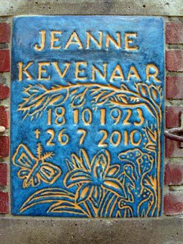 monument Jeanne Kevenaar