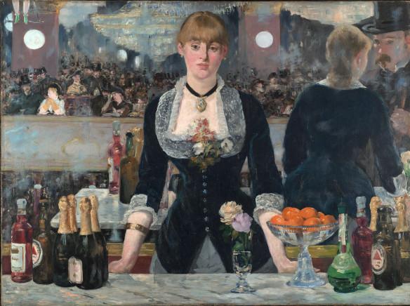 Au bar de Folies-Bergère, Édouard Manet