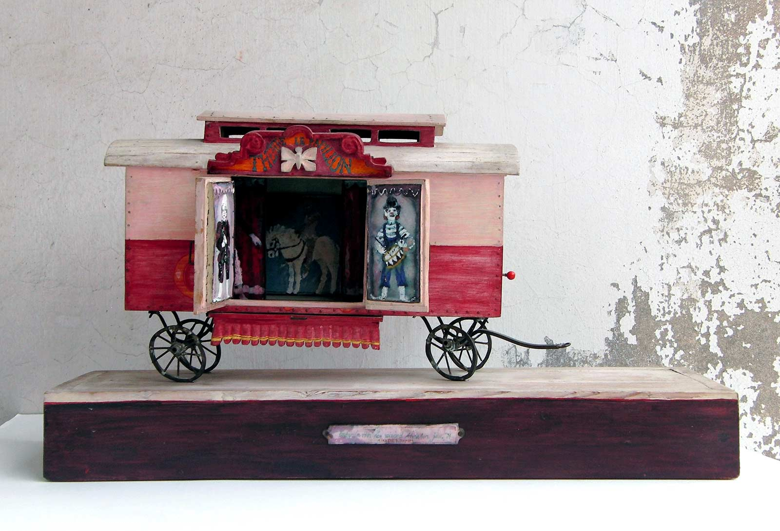Circuswagen, Go de Kroon