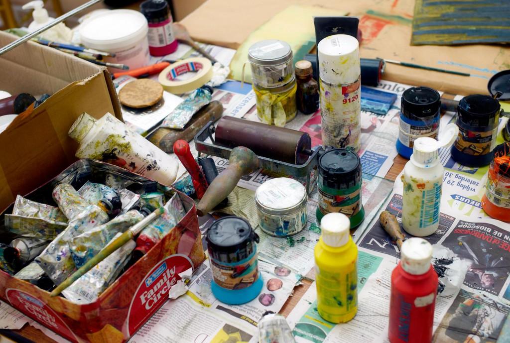 Atelier Ondine de Ktoon potten verf